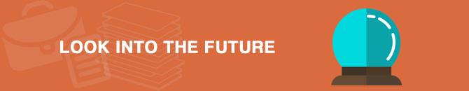 look into future
