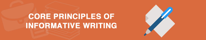 core principles of informative writing